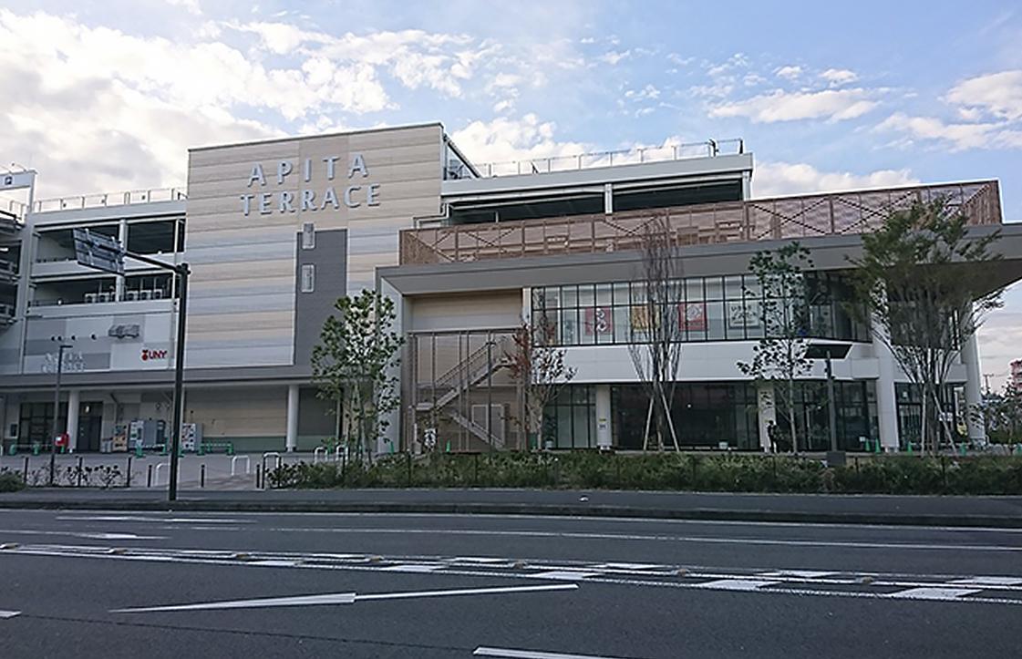 アピタ横浜綱島新築工事現場